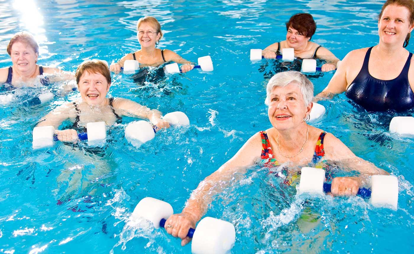 Study Water Exercises And Bone Density Aqua4balance