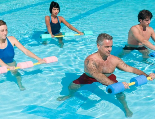 Study: Water Aerobics and High Blood Pressure